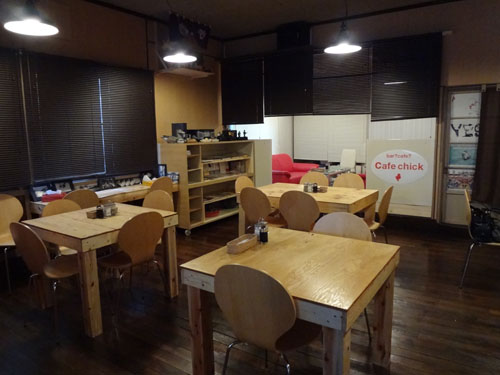 cafe chick店内①