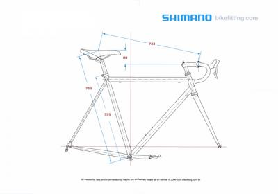 SHIMANOシマノ カスタムフィッティング結果(アップ用)