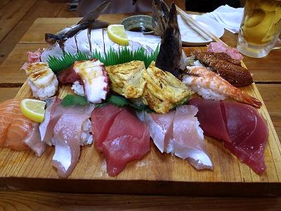 寿司盛り合わせ+鯖寿司