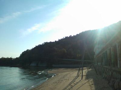 広島、陸の孤島カフェ