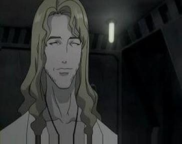 胡散臭い金髪の男