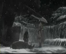 雪の中のオートレイヴたち
