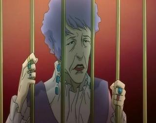 紫パーマのおばちゃん