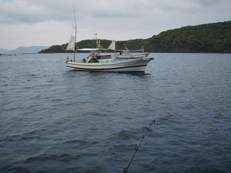 漁師さんと釣り