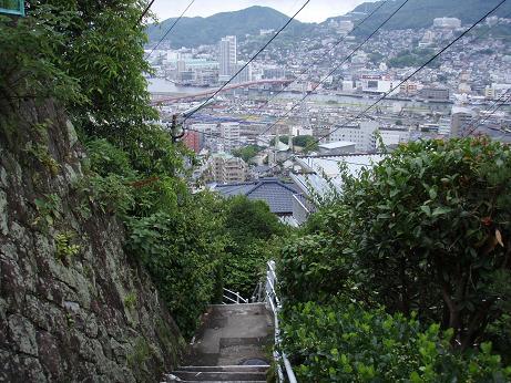坂の上の宿泊先