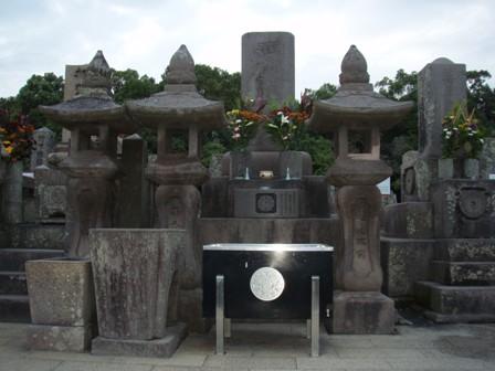 西郷さん墓