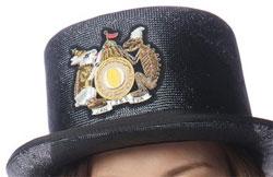 篠田麻里子 PON衣装 帽子