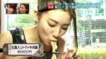 足立梨花 セクシー 食事顔 麺すすり 顔アップ 地上波キャプチャー 擬似フェラ顔 高画質エロかわいい画像1