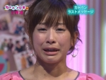 加藤綾子 フジテレビ女子アナウンサー セクシー 泣き顔 地上波キャプチャー 顔アップ カメラ目線 高画質エロかわいい画像33