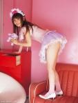 中川翔子 セクシー コスプレ メイド ミニスカート お尻突き出し 挑発ポーズ 太もも 誘惑 高画質エロかわいい画像40