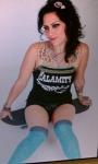 Danielle Colby Cushman 海外番組アメリカンピッカーズ(American Pickers) セクシー 太もも ニーソックス タトゥー 高画質エロかわいい画像2
