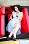 Danielle Colby Cushman 海外番組アメリカンピッカーズ(American Pickers) セクシー おっぱいの谷間 スカート 太もも タトゥー 誘惑 高画質エロかわいい画像5