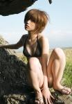 松嶋初音 セクシー ビキニ水着 おっぱいの谷間 ショートヘア 太もも 誘惑 高画質エロかわいい画像25
