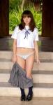 篠崎愛 セクシー 女子高生 制服 コスプレ ミニスカート 脱ぎかけ パンモロ 全身 誘惑 高画質エロかわいい画像109