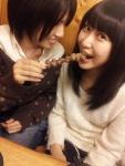 SKE48 向田茉夏 中西優香 セクシー 食事顔 口開け 咥え カメラ目線 高画質エロかわいい画像84