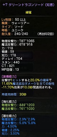 GDソード+7