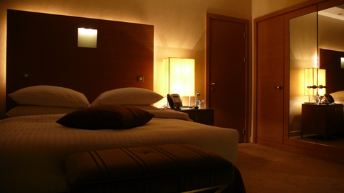 HOTELの部屋なんて、何処も一緒・・