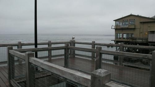 モンテレーの桟橋