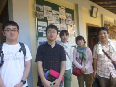 三重の山室さん家族と東京の清田さん