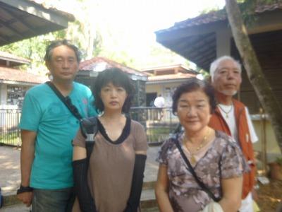 HISのツアーでお越しの愛知の岩本さん夫妻と舟川さん夫妻