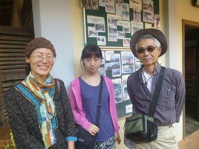 カンジェスクさんと京都の石田さん