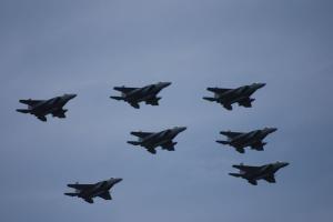 F15 編隊飛行