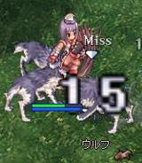 vsオオカミ