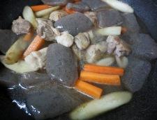 鶏ごぼうのうま煮 調理⑥