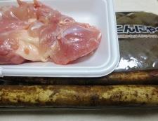 鶏ごぼうのうま煮 材料①