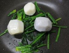 里芋ミートソースペンネグラタン 調理③
