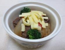 牛すじグラタン 調理②