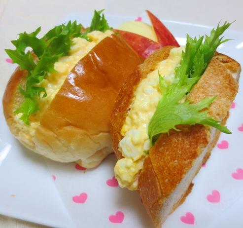 エッグサンド ロール&フランスパン