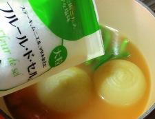 玉ねぎ♪丸ごとスープ煮 調理⑤