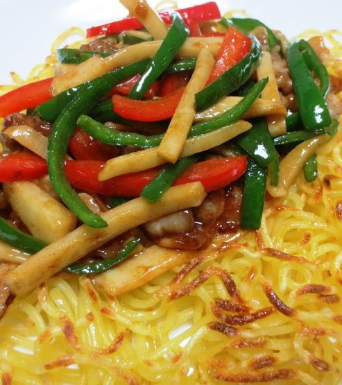 青椒肉絲炒麺 B