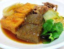 豚肉と厚揚げのすき焼き風 調理⑥