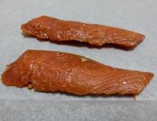 鮭の味噌漬け 調理④