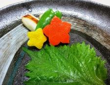 鮭の味噌漬け 材料つけ合わせ
