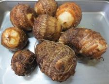 手羽中と里芋の炊いたん 材料①