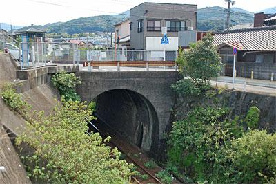 佐世保市田原町のコンクリートアーチ橋02