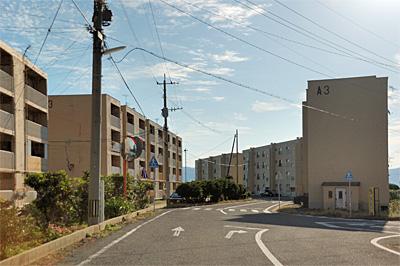 池島の炭鉱住宅03