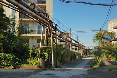 池島の炭鉱住宅04