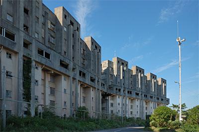 池島の炭鉱住宅09
