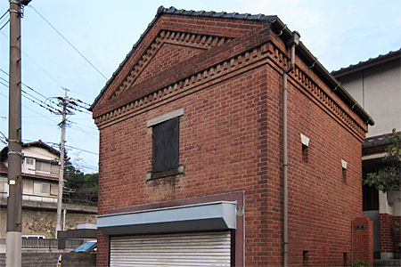 門司区清見のレンガ建築13