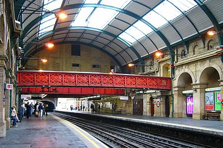 パディントン駅(ロンドン地下鉄)