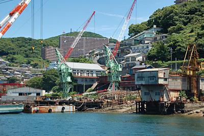 長崎港の中小造船所52
