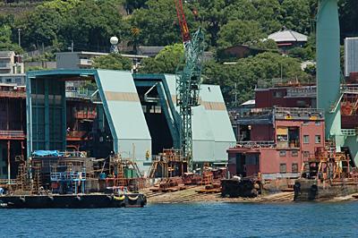 長崎港の中小造船所53