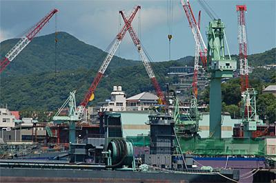 長崎港の中小造船所54