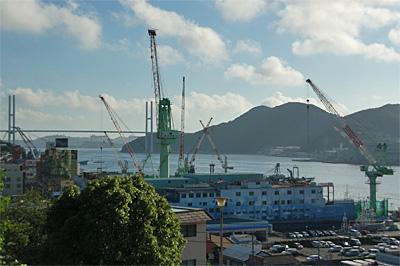 長崎港の中小造船所55