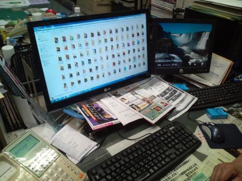バンマスのパソコン