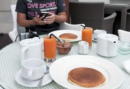 カキアン朝食